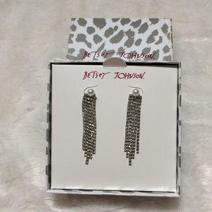 Betsey Johnson Earrings NWT